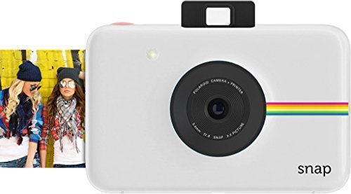 Polaroid Snap Instant Digital Camera (White) with ZINK