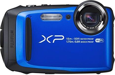 Fujifilm FinePix XP90 Blue Waterproof digital camera (Blue)