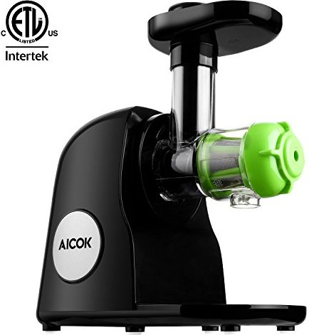 Aicok Slow Masticating Juicer Extractor, Reverse Function, Quiet